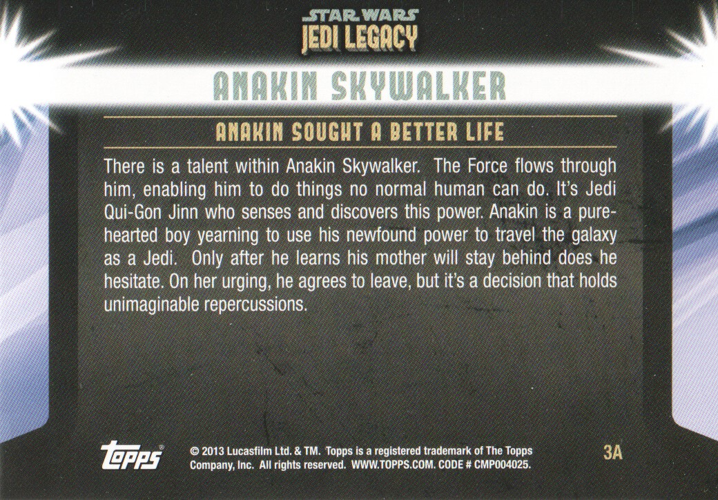 2013-Topps-Star-Wars-Jedi-Legacy-Parallels-Trading-Cards-Pick-From-List miniature 11