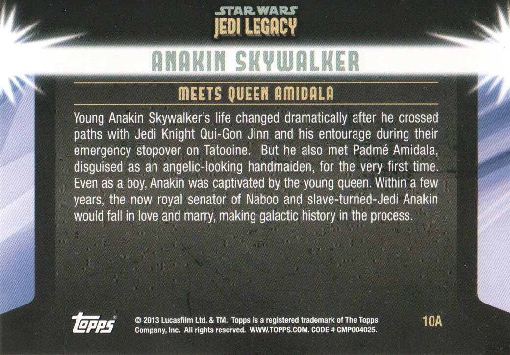 2013-Topps-Star-Wars-Jedi-Legacy-Parallels-Trading-Cards-Pick-From-List miniature 23