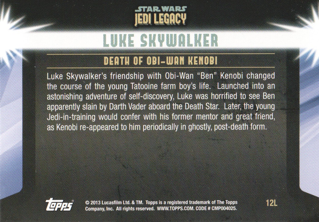 2013-Topps-Star-Wars-Jedi-Legacy-Parallels-Trading-Cards-Pick-From-List miniature 31