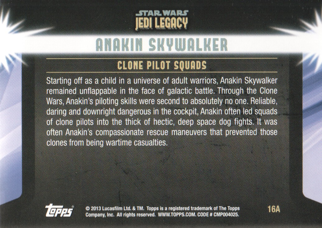 2013-Topps-Star-Wars-Jedi-Legacy-Parallels-Trading-Cards-Pick-From-List miniature 37
