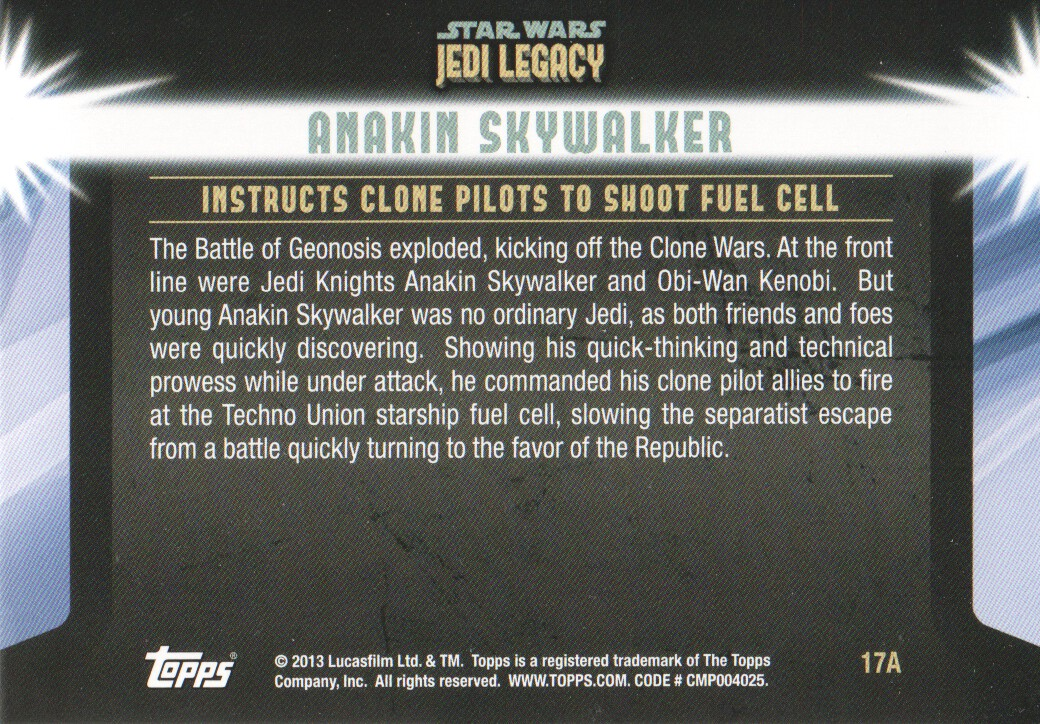 2013-Topps-Star-Wars-Jedi-Legacy-Parallels-Trading-Cards-Pick-From-List miniature 39