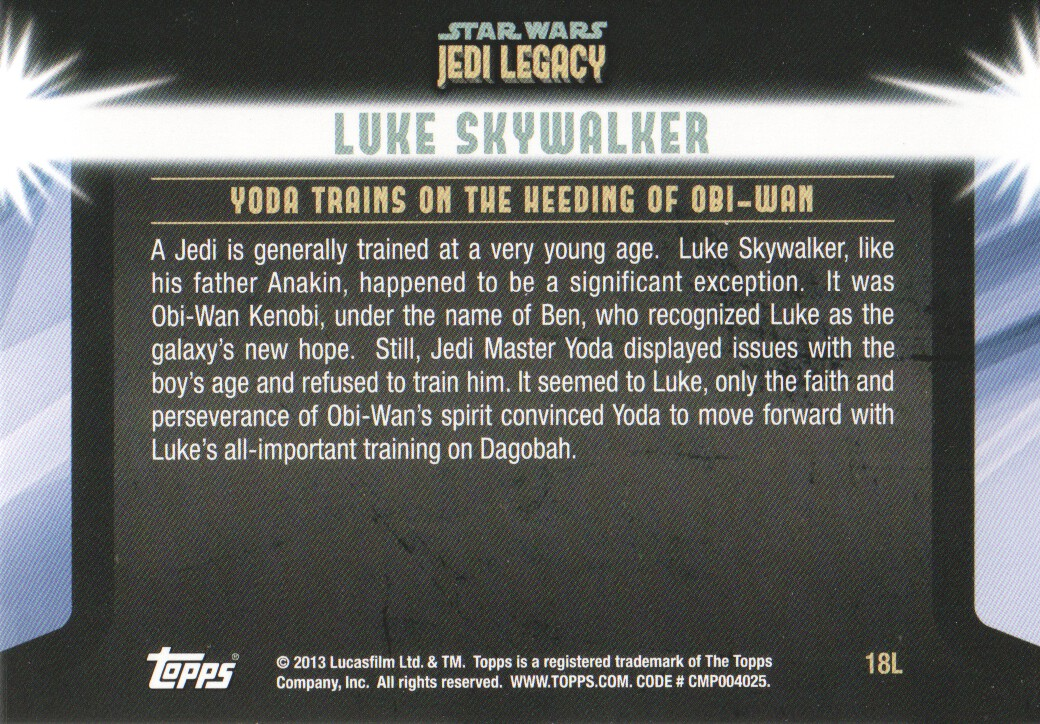 2013-Topps-Star-Wars-Jedi-Legacy-Parallels-Trading-Cards-Pick-From-List miniature 45