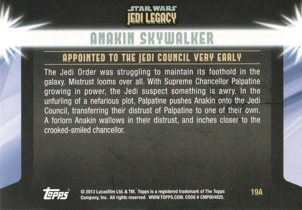 2013-Topps-Star-Wars-Jedi-Legacy-Parallels-Trading-Cards-Pick-From-List miniature 47