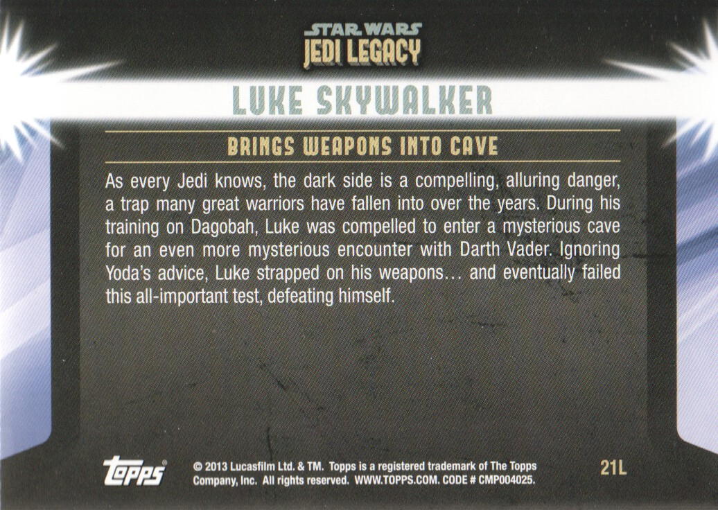 2013-Topps-Star-Wars-Jedi-Legacy-Parallels-Trading-Cards-Pick-From-List miniature 55