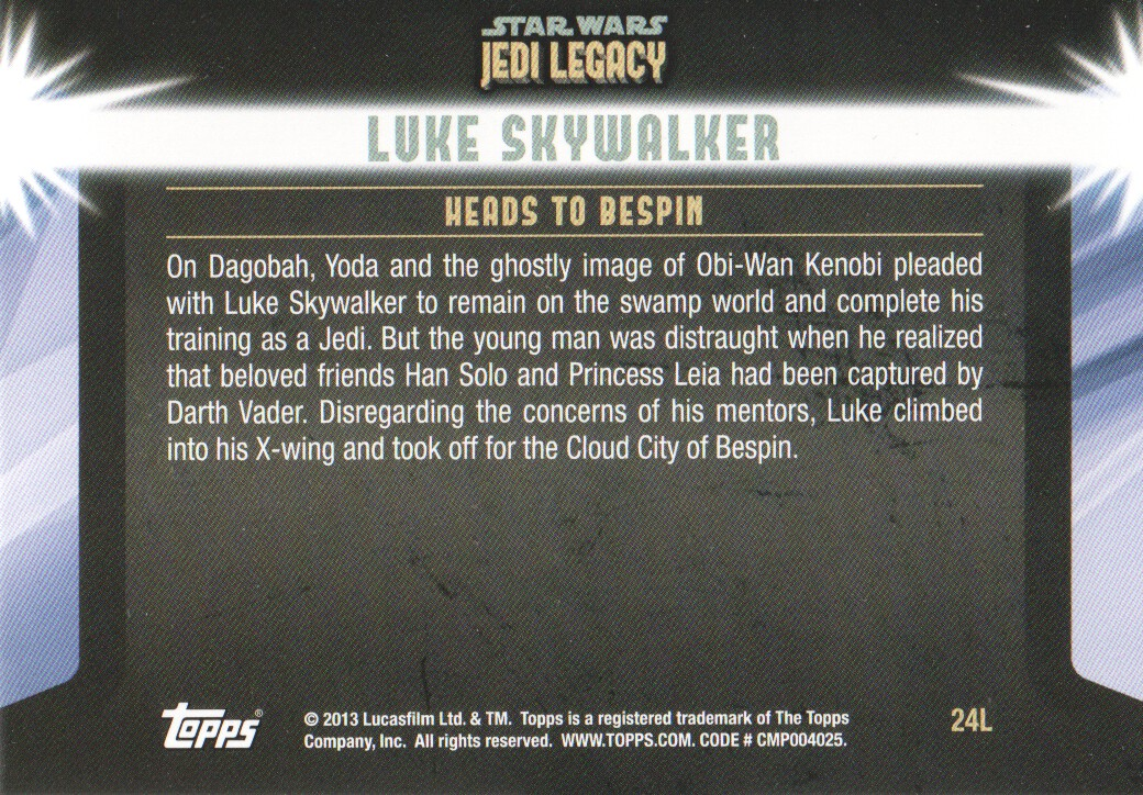 2013-Topps-Star-Wars-Jedi-Legacy-Parallels-Trading-Cards-Pick-From-List miniature 63