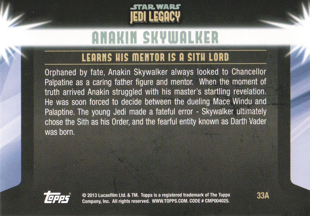 2013-Topps-Star-Wars-Jedi-Legacy-Parallels-Trading-Cards-Pick-From-List miniature 87