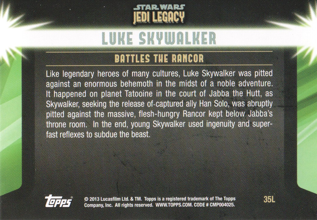 2013-Topps-Star-Wars-Jedi-Legacy-Parallels-Trading-Cards-Pick-From-List miniature 93
