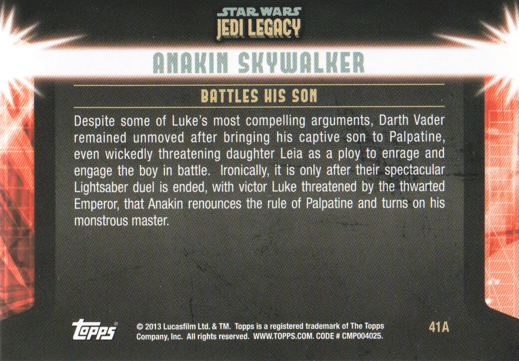 2013-Topps-Star-Wars-Jedi-Legacy-Parallels-Trading-Cards-Pick-From-List miniature 107