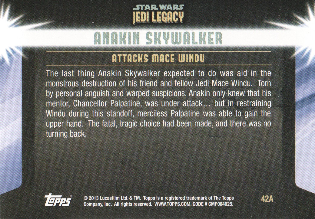 2013-Topps-Star-Wars-Jedi-Legacy-Parallels-Trading-Cards-Pick-From-List miniature 109