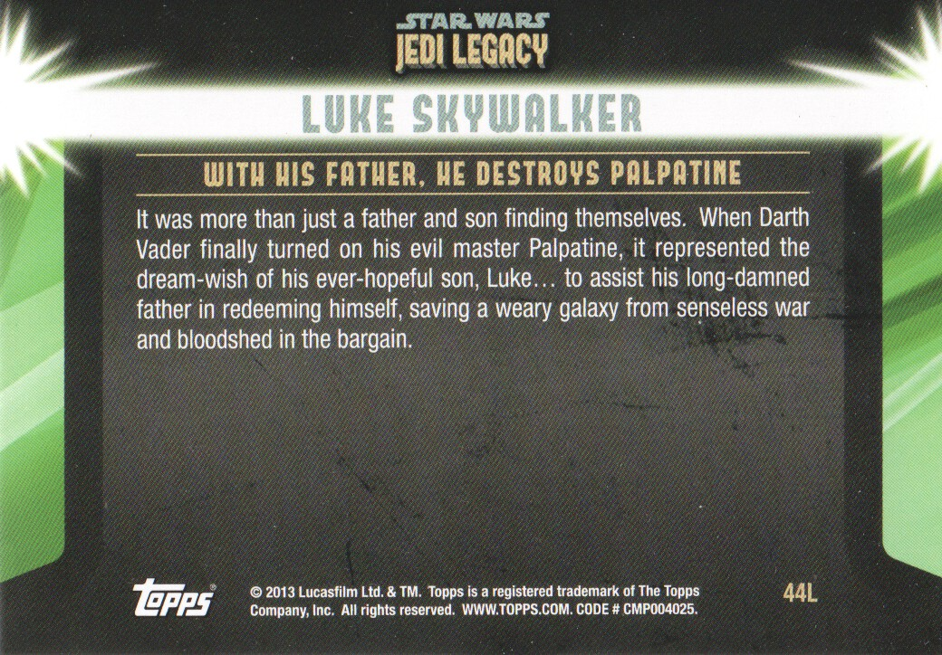2013-Topps-Star-Wars-Jedi-Legacy-Parallels-Trading-Cards-Pick-From-List miniature 115