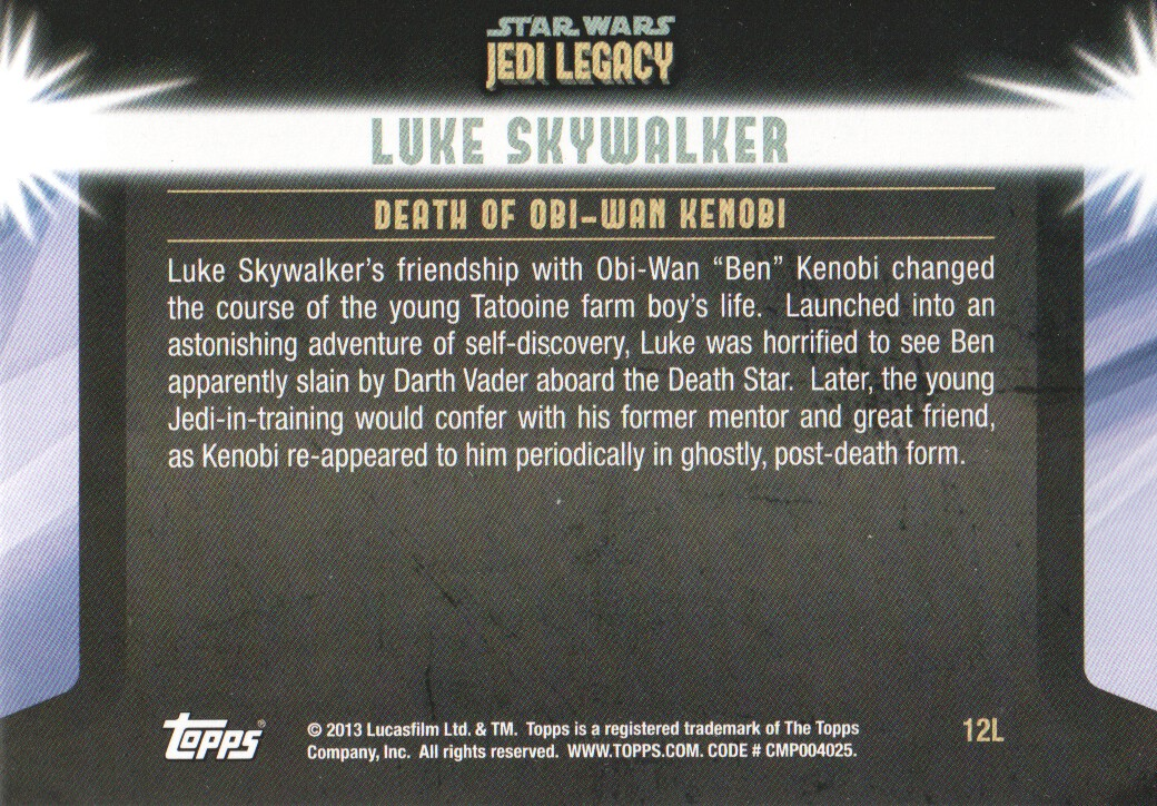 2013-Topps-Star-Wars-Jedi-Legacy-Parallels-Trading-Cards-Pick-From-List miniature 135