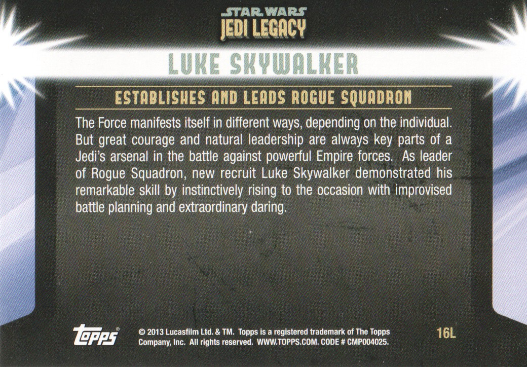 2013-Topps-Star-Wars-Jedi-Legacy-Parallels-Trading-Cards-Pick-From-List miniature 143