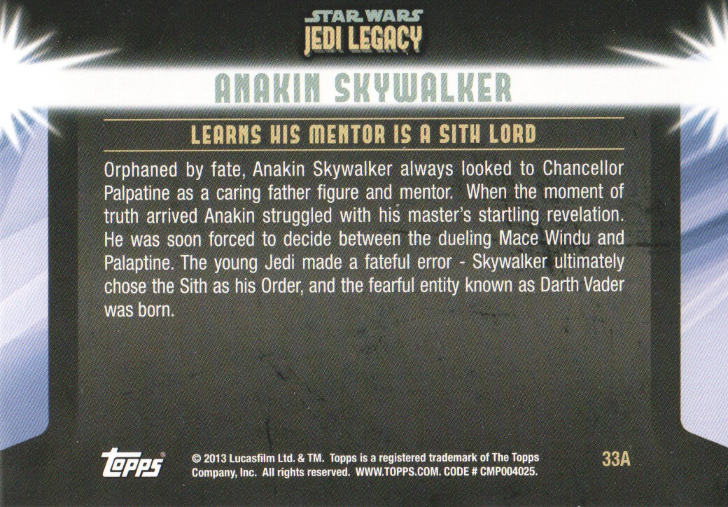 2013-Topps-Star-Wars-Jedi-Legacy-Parallels-Trading-Cards-Pick-From-List miniature 157