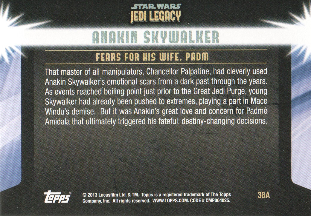 2013-Topps-Star-Wars-Jedi-Legacy-Parallels-Trading-Cards-Pick-From-List miniature 125