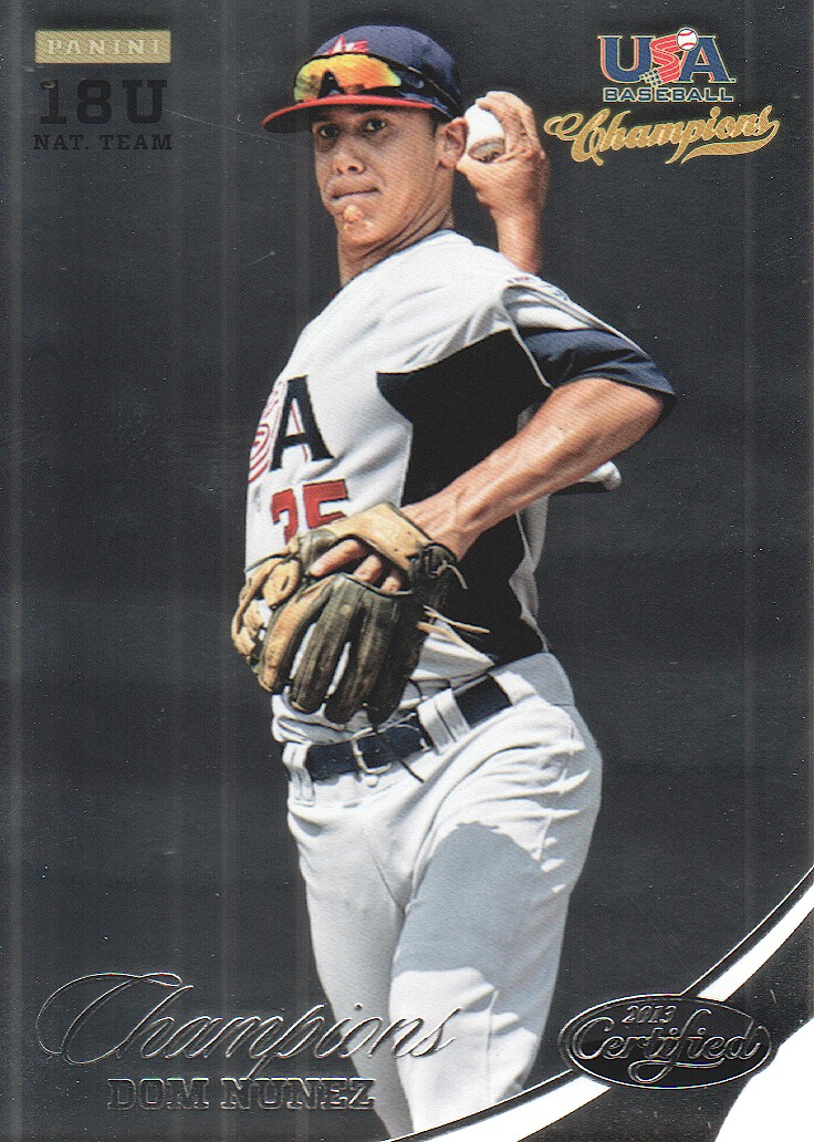 2013 USA Baseball Champions #161 Dom Nunez