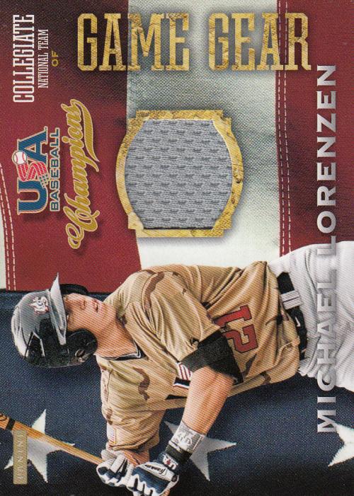 2013 USA Baseball Champions Game Gear Jerseys #36 Michael Lorenzen
