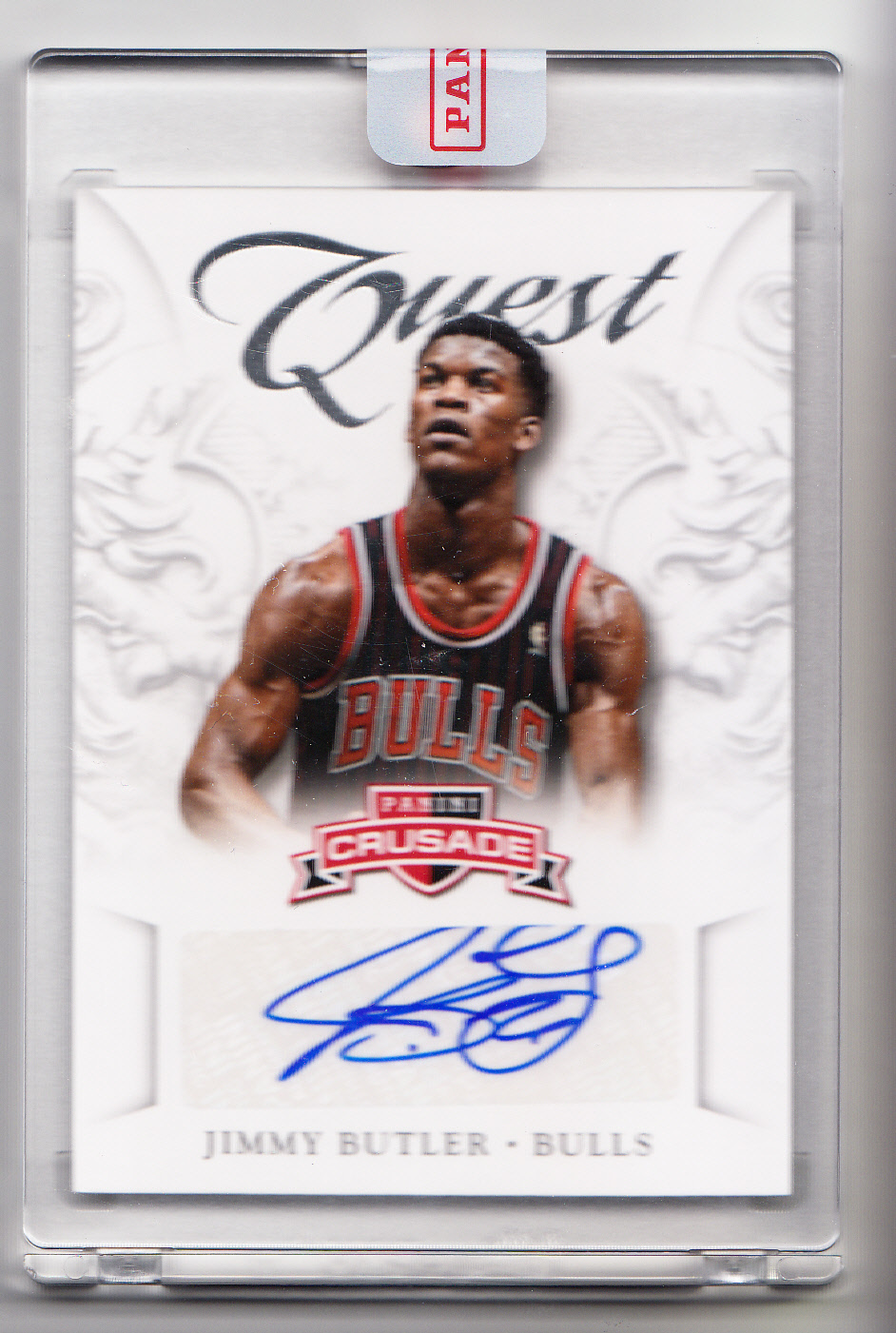 2012-13 Panini Crusade Quest Autographs #13 Jimmy Butler