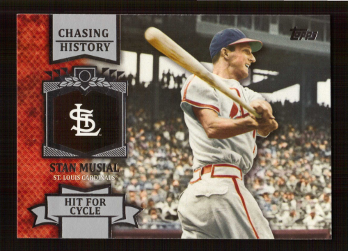 2013 Topps Chasing History #CH74 Stan Musial