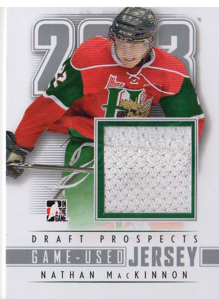 2012-13 ITG Draft Prospects Jerseys #M21 Nathan MacKinnon