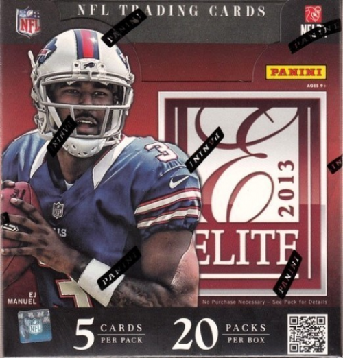 2013 Elite Football Hobby Box