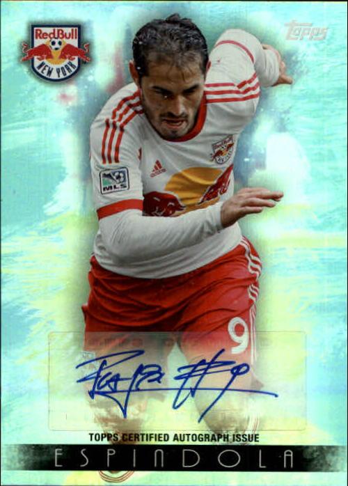 2013 Topps MLS Maestros Autographs #FE Fabian Espindola