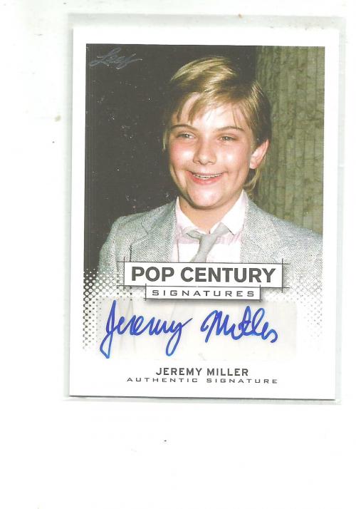 2013 Pop Century #BAJM2 Jeremy Miller