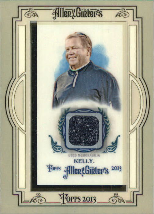 2013 Topps Allen and Ginter Framed Mini Relics #BK Brian Kelly