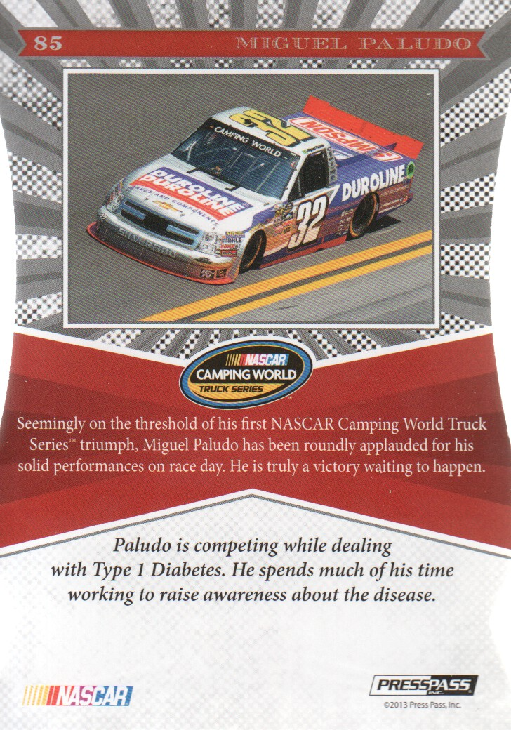 2013 Press Pass NASCAR Racing Cards Pick From List