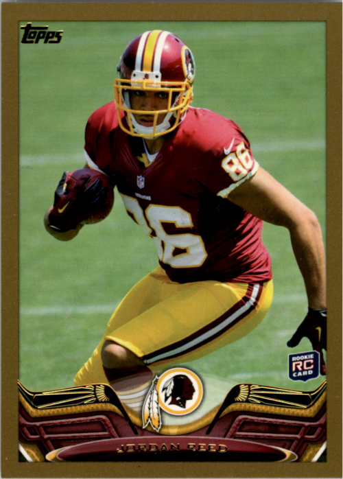 2013 Topps Gold #317 Jordan Reed/(running pose)