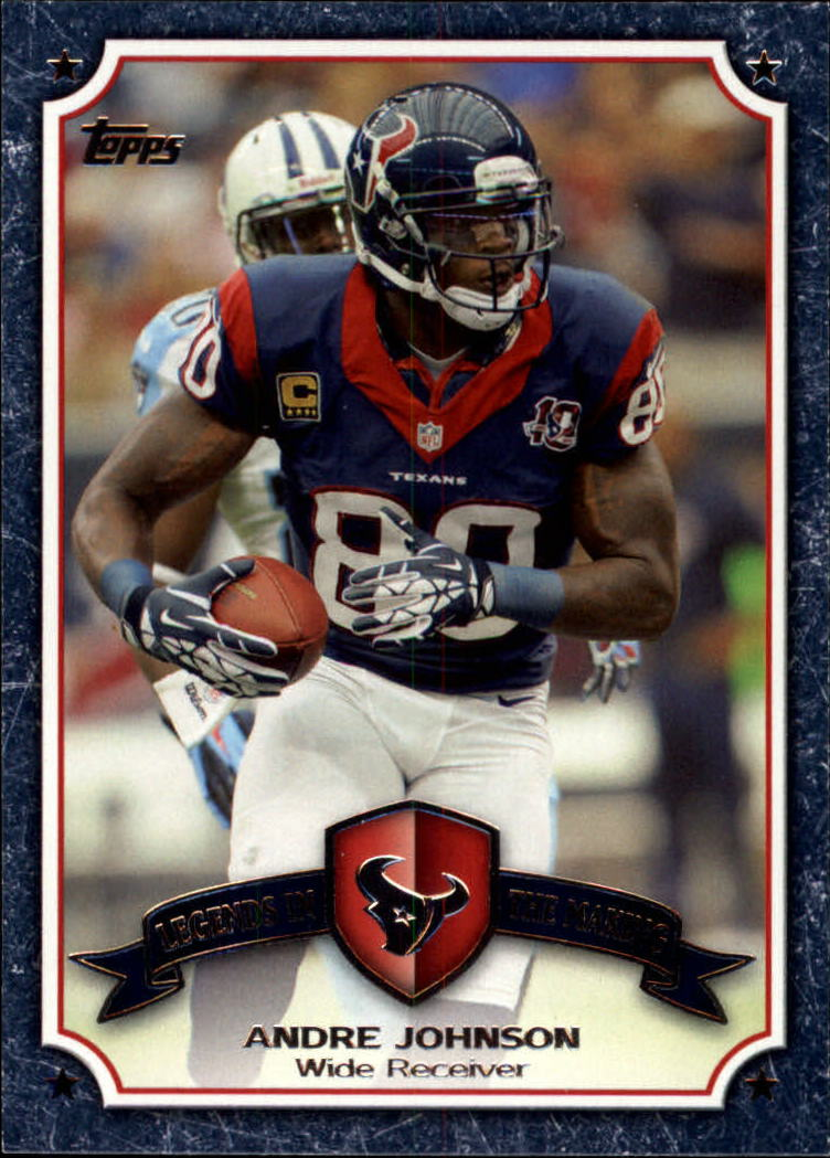 2013 Topps Legends In The Making #LMAJ Andre Johnson