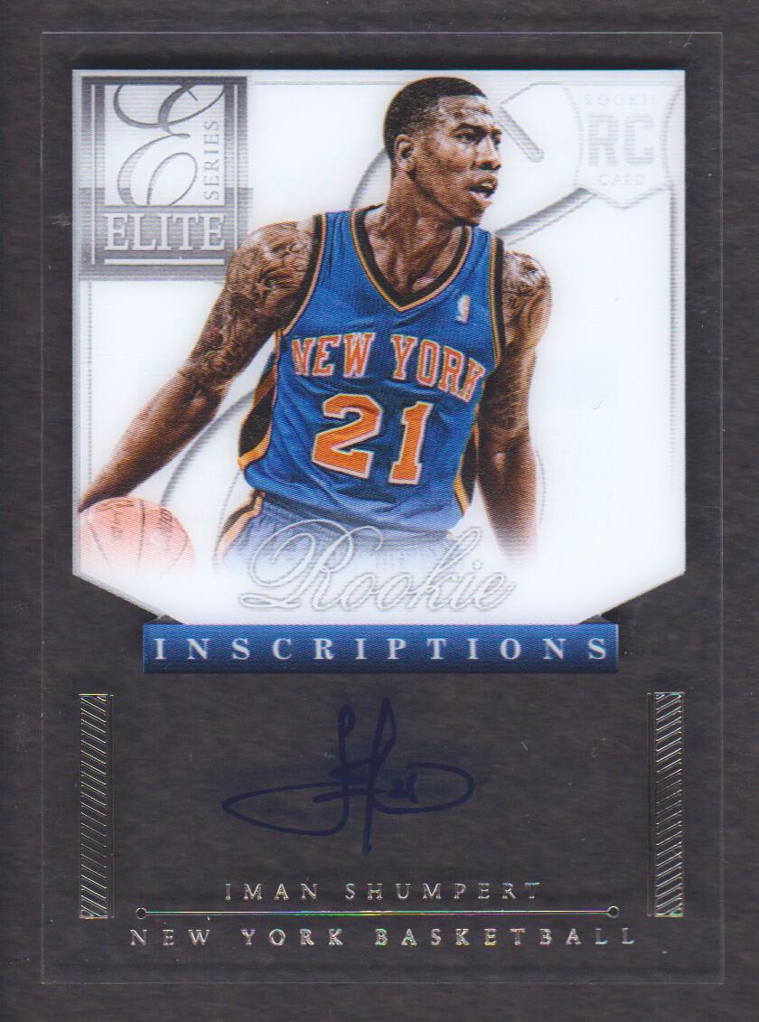 2012-13 Elite Series Rookie Inscriptions Autographs #34 Iman Shumpert EXCH