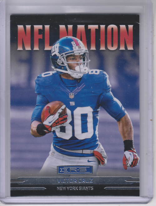 2013 Rookies and Stars NFL Nation #4 Victor Cruz