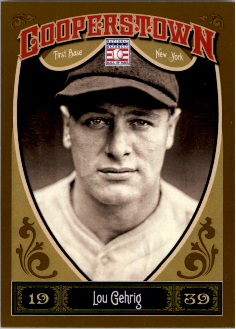 2013 Panini Cooperstown #1 Lou Gehrig