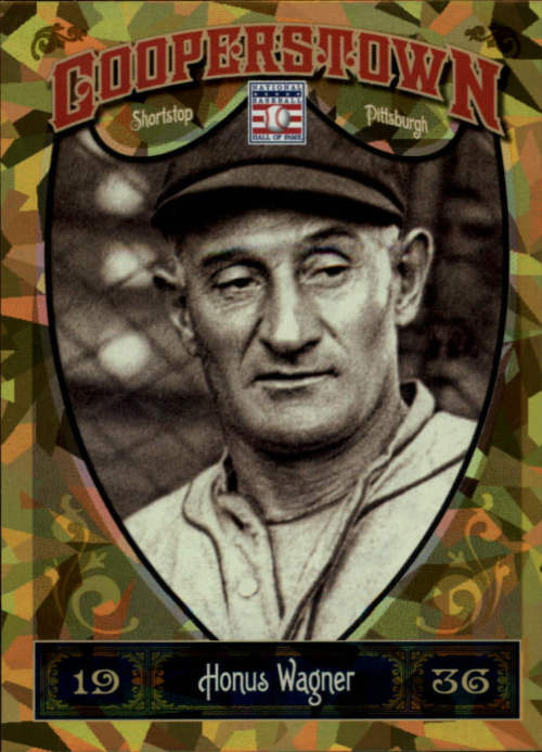 2013 Panini Cooperstown Gold Crystal #14 Honus Wagner