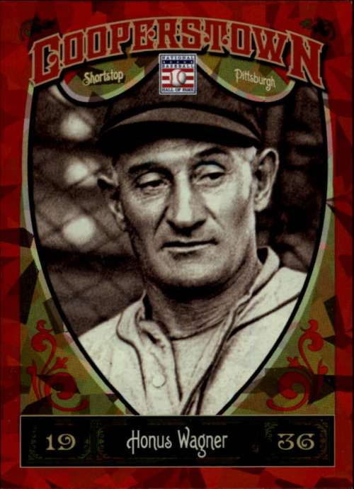 2013 Panini Cooperstown Red Crystal #14 Honus Wagner