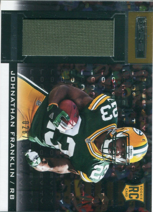 2013 Rookies and Stars Longevity Parallel #212 Johnathan Franklin JSY