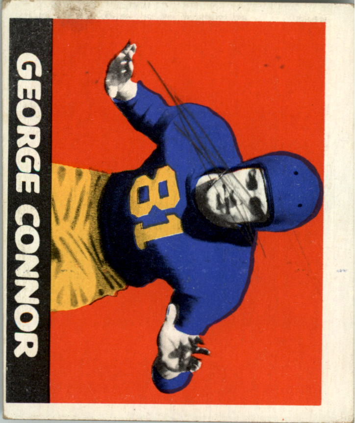 1948 Leaf #37B George Connor RC/(dark yellow pants)