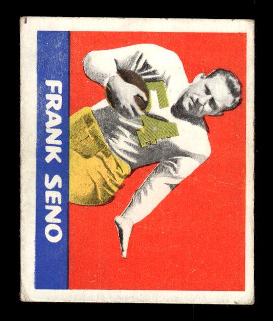1948 Leaf #64B Frank Seno GN RC/(Green numbers)