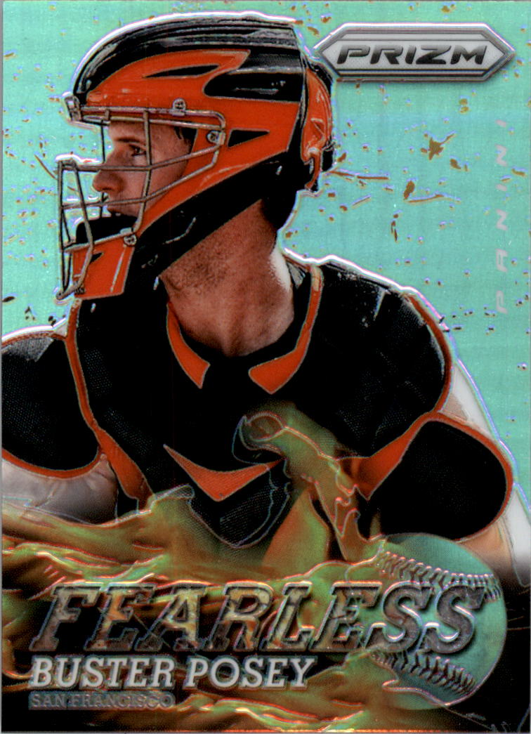 2013 Panini Prizm Fearless Prizms #1 Buster Posey