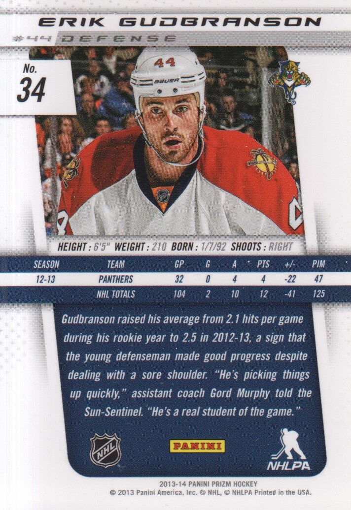 2013-14-Panini-Prizm-Hockey-Cards-1-105-Pick-From-List thumbnail 67