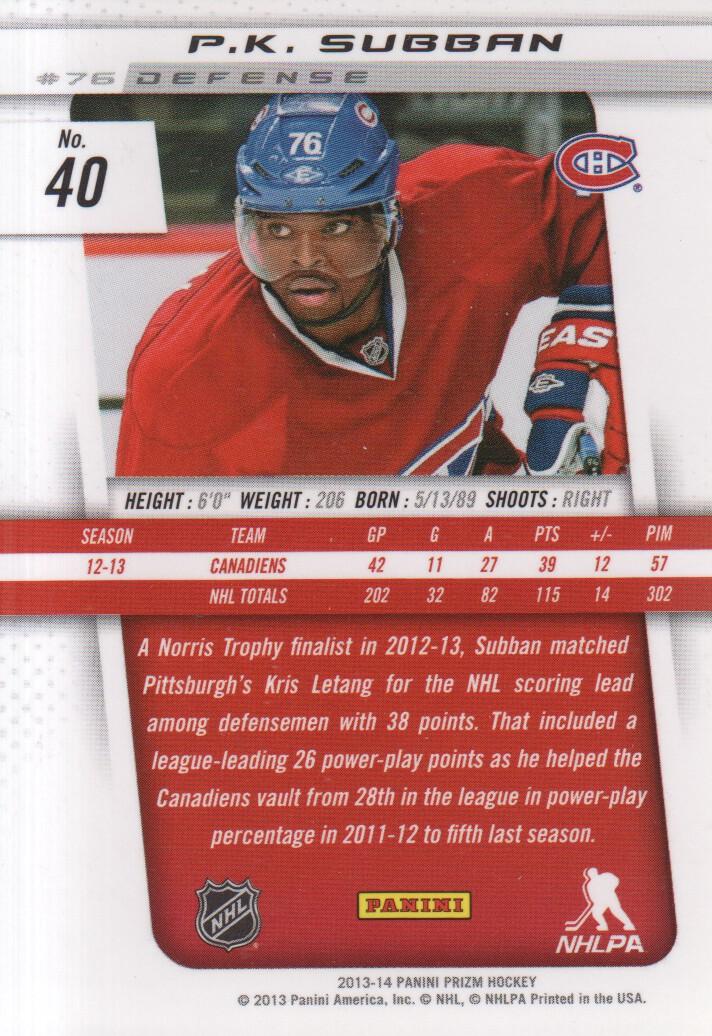 2013-14-Panini-Prizm-Hockey-Cards-1-105-Pick-From-List thumbnail 79