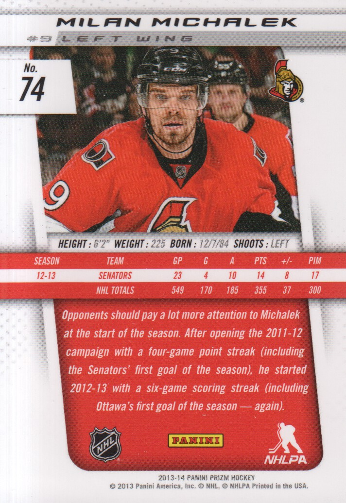 2013-14-Panini-Prizm-Hockey-Cards-1-105-Pick-From-List thumbnail 145
