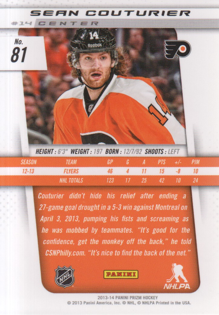 2013-14-Panini-Prizm-Hockey-Cards-1-105-Pick-From-List thumbnail 157