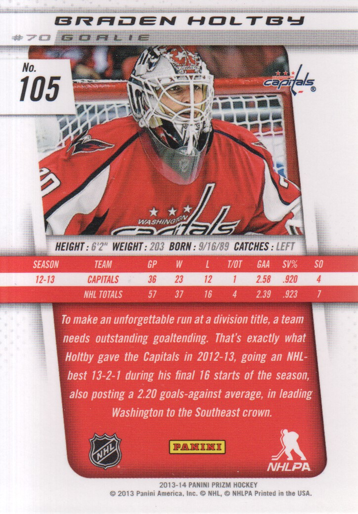 2013-14-Panini-Prizm-Hockey-Cards-1-105-Pick-From-List thumbnail 201