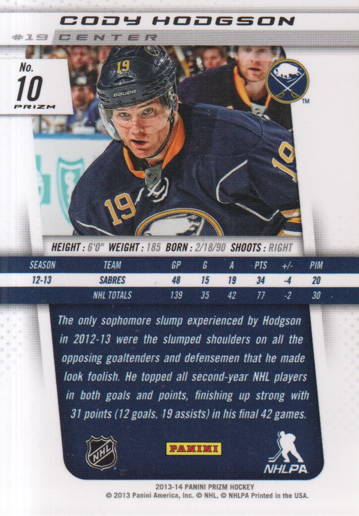 2013-14-Panini-Prizm-Parallel-Hockey-Cards-Pick-From-List thumbnail 3