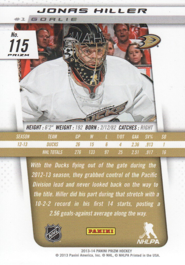 2013-14-Panini-Prizm-Parallel-Hockey-Cards-Pick-From-List thumbnail 7