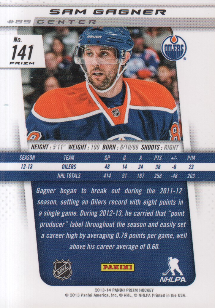 2013-14-Panini-Prizm-Parallel-Hockey-Cards-Pick-From-List thumbnail 11