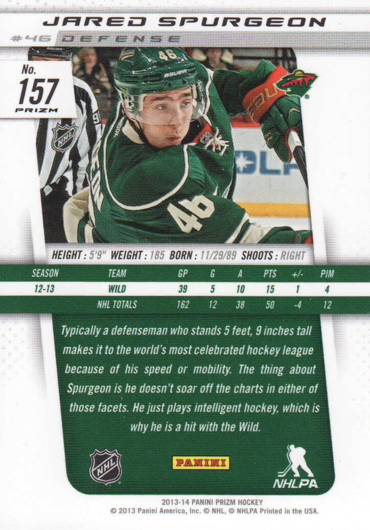 2013-14-Panini-Prizm-Parallel-Hockey-Cards-Pick-From-List thumbnail 15