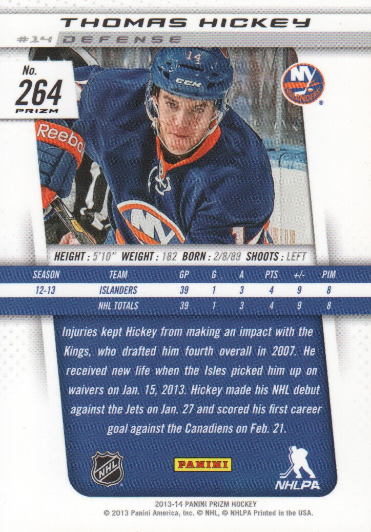 2013-14-Panini-Prizm-Parallel-Hockey-Cards-Pick-From-List thumbnail 51