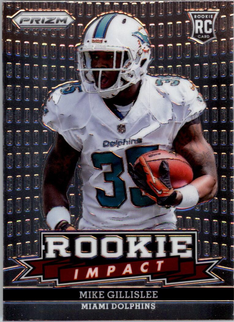 2013 Panini Prizm Rookie Impact #11 Mike Gillislee
